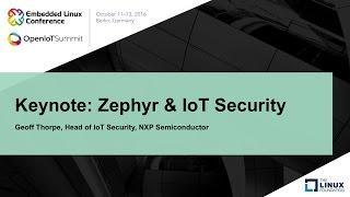 Keynote: Zephyr & IoT Security