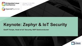 Keynote: Zephyr & IoT Security