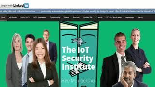 IoT Security Internship Program Employer & Jobseeker Control Panel Overview