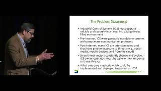 Protecting Industrial Control Systems - Subhash Paluru, Western Area Power Administration