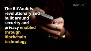 First Ever #Blockchain Phone #BitVault