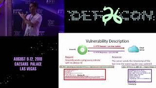 DEF CON 26 IoT VILLAGE - Ben Nassi - Attacking Commercial Smart Irrigation Systems