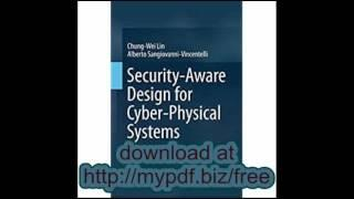 Security Aware Design for Cyber Physical Systems A Platform Based Approach