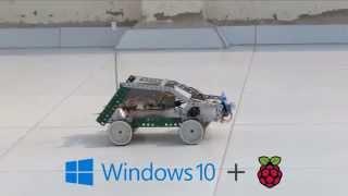Speech Controlled Robot (Windows 10 IoT + Raspberry Pi 2)