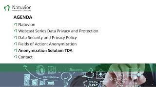 Data Security and Data Privacy - Data Anonymization