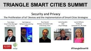 Security and Privacy  IoT and Implementation of Smart Cities Strategies