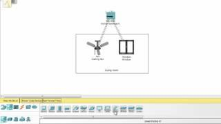 [IoT] How to design a smart home on packet tracer - part 1
