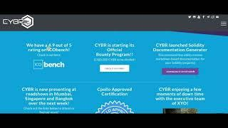 [CYBR] Excellent Cyber Security Ecosystem on Blockchain