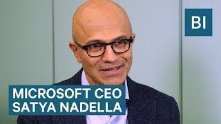 Microsoft CEO Satya Nadella talks Trump, AI, cyber security, and more